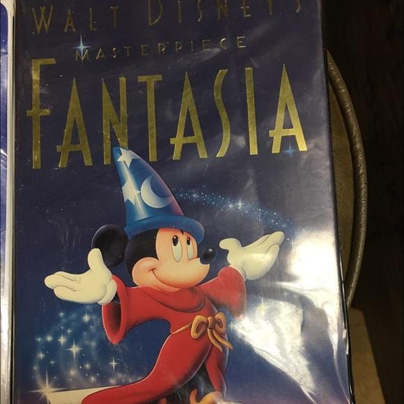 Walt Disney's Masterpiece Fantasia Pre-owned VHS